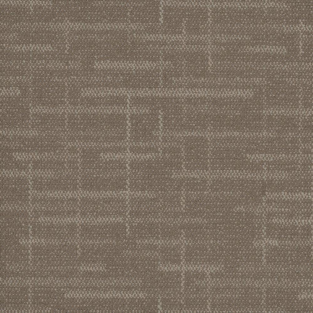 Builder Brown 24 in. x 24 in. Carpet Tiles (8 syds. case/carton - 18 Tiles case/carton)