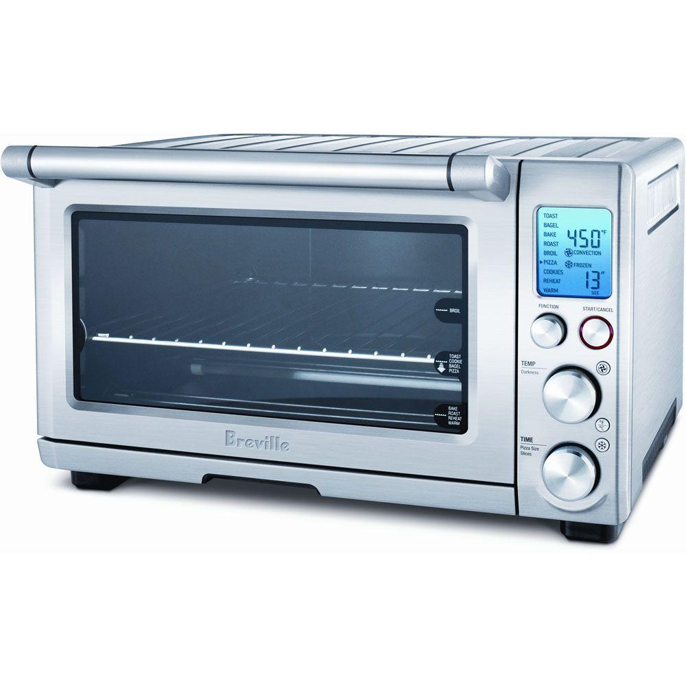 Breville Remanufactured 0.8 cu. ft. Smart Compact Convection Countertop Oven--DISCONTINUED