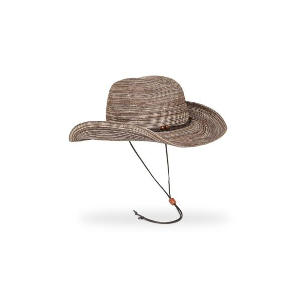 Women's Cinnamon Sunset Polyester Braided Hat