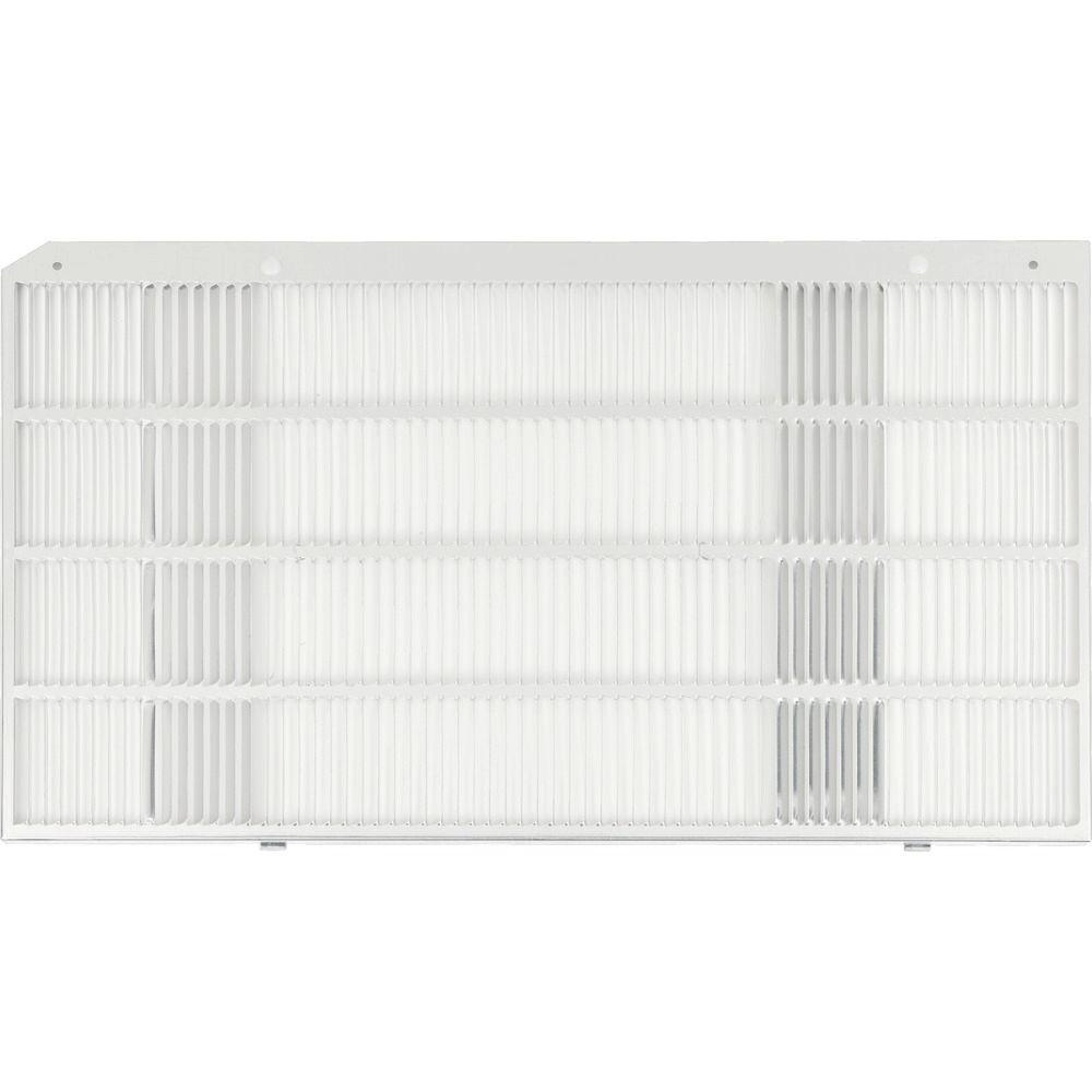 GE Room Air Conditioner Rear Grille The Gray Room Air Conditioner Rear Grille is designed as a replacement grille for the one on existing J wall cases. The grille comes with a 1-year warranty for your convenience. This Air Conditioner Rear Grille is 16 in. height.