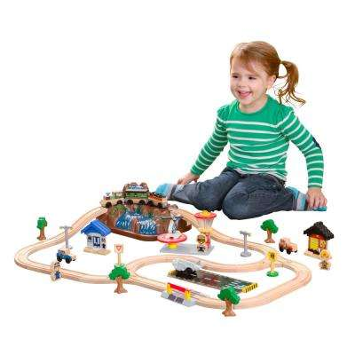 Bucket Top Mountain Train Playset