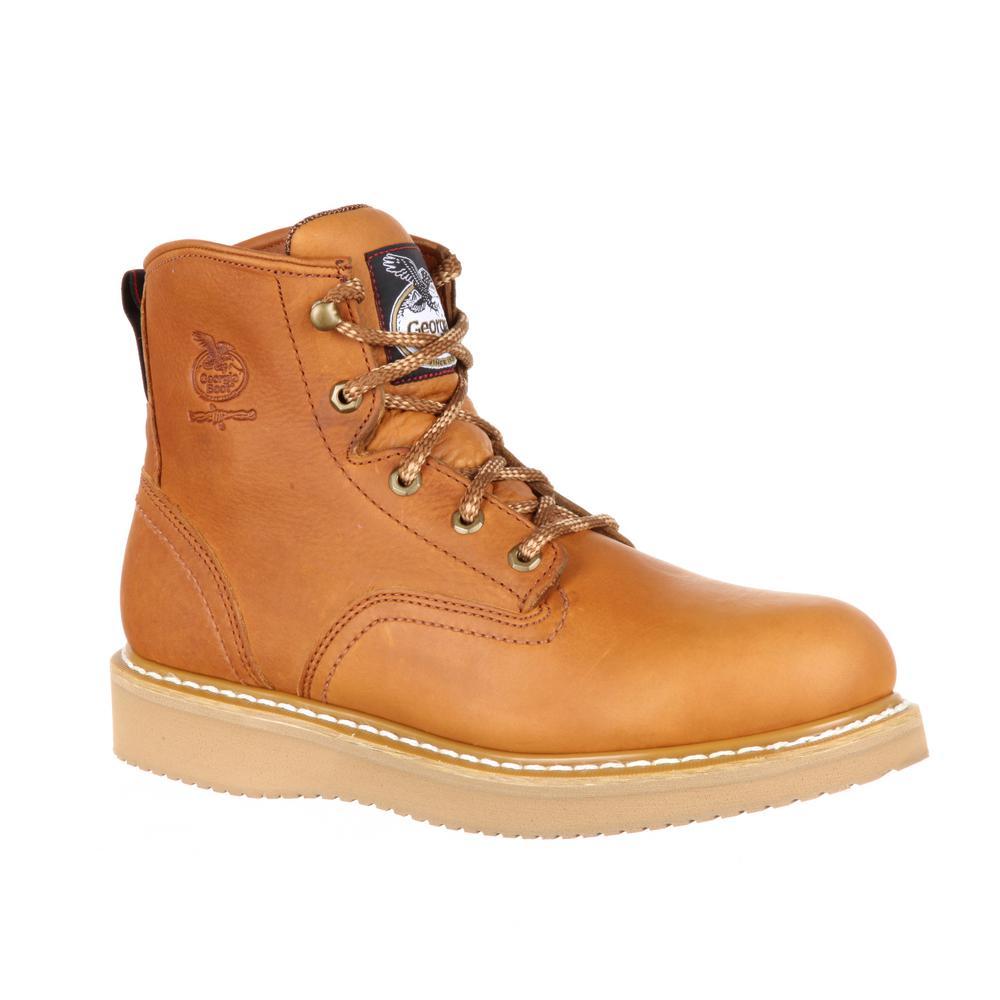 Wedge Work Boot - Steel Toe-G6342