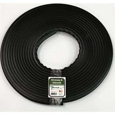 1/2 in. x 50 ft. Concrete Expansion Joint Replacement in Black