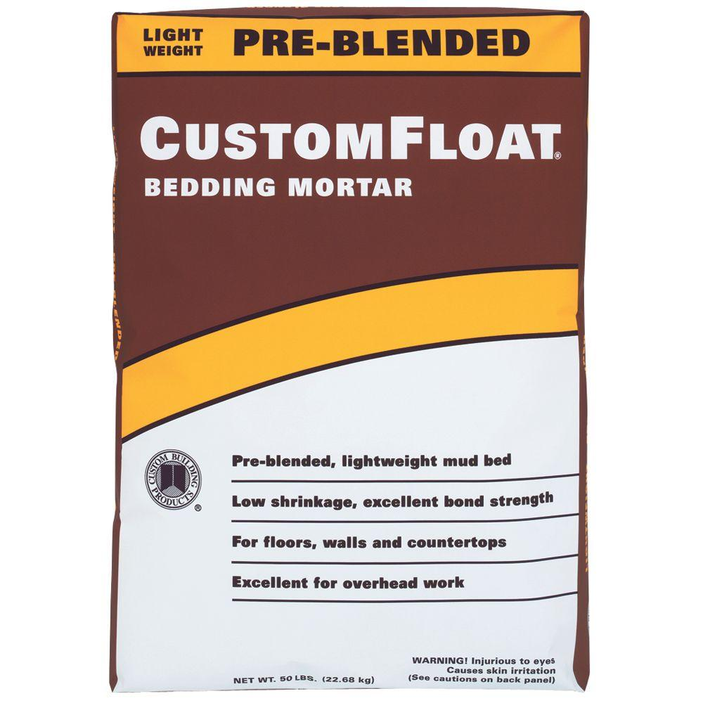 Customfloat 50 Lb Bedding Mortar Cft50
