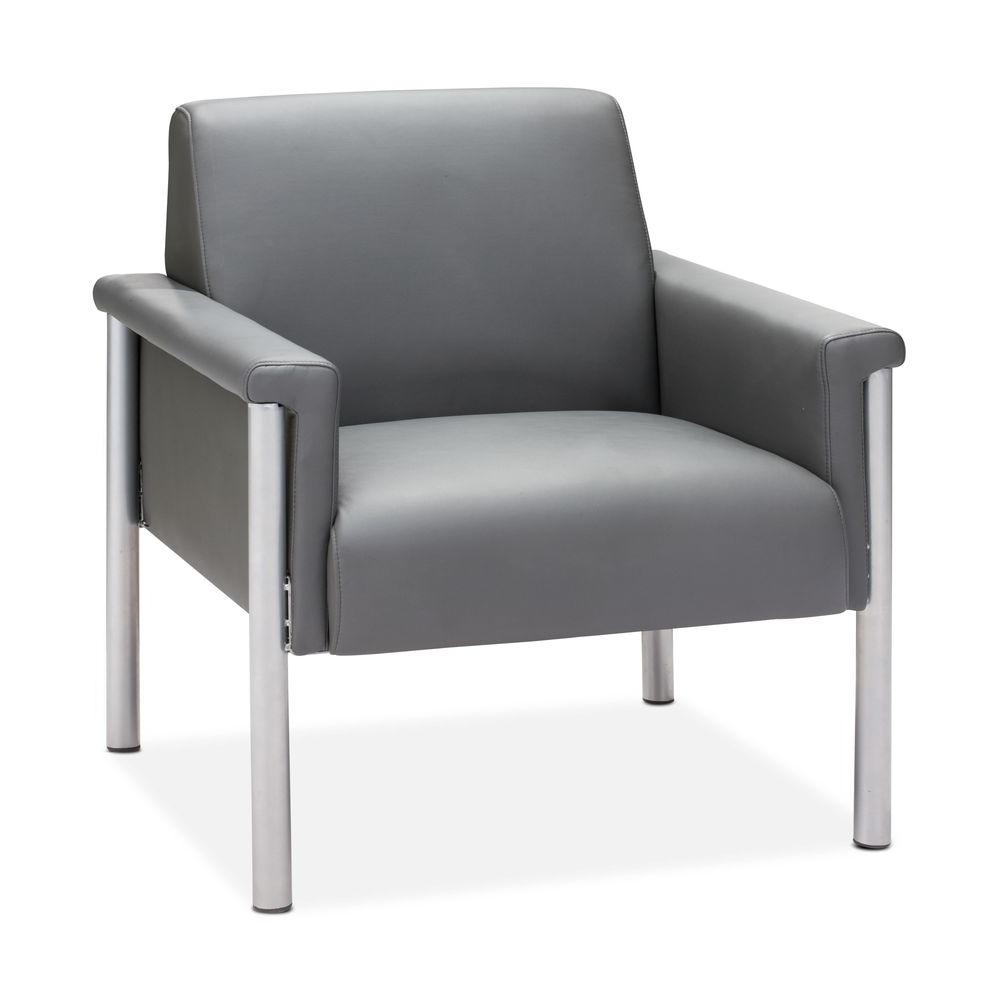ZUO Baton Gray Arm Chair-DISCONTINUED