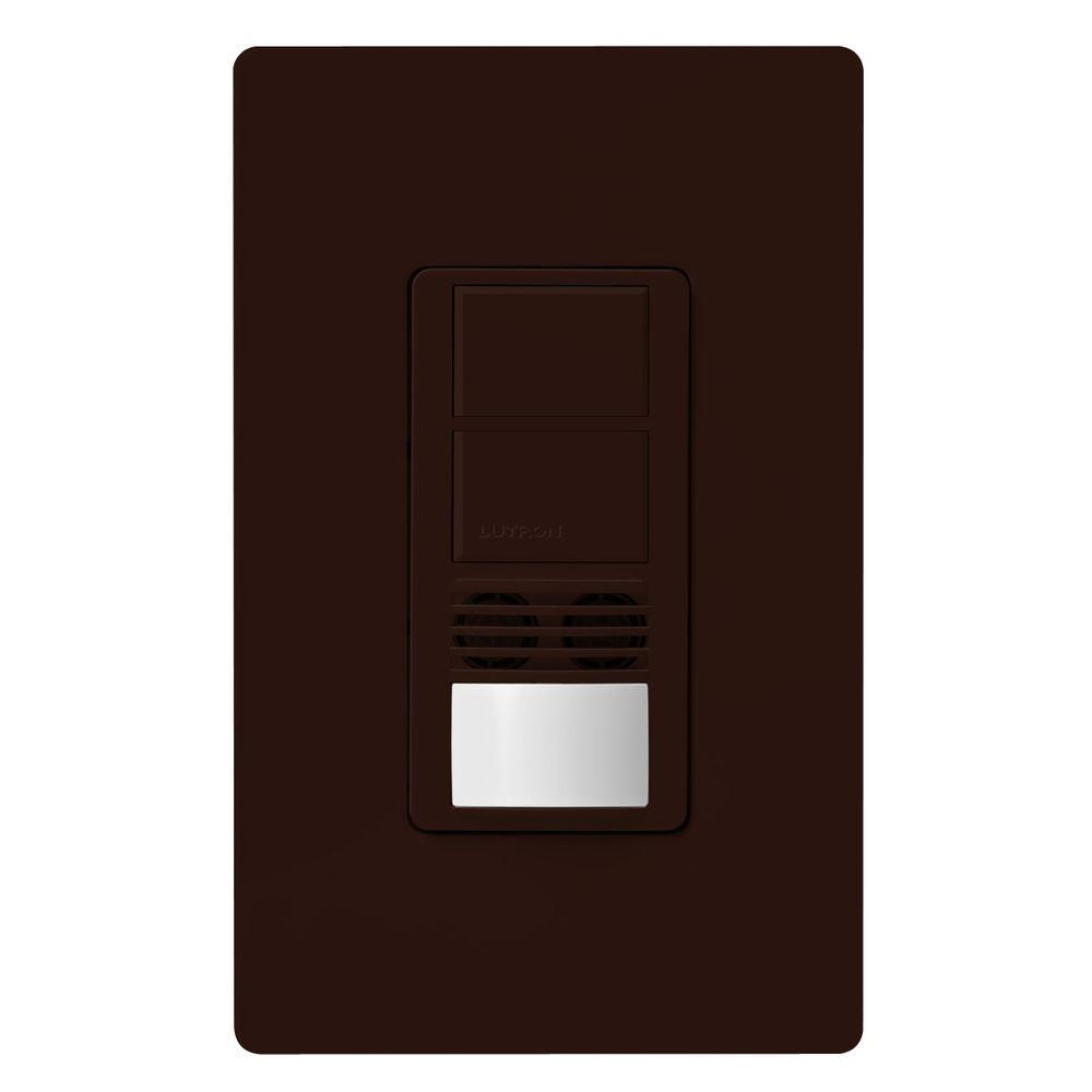 Maestro Dual-Circuit Dual-Tech Motion Sensor switch, 6A, Single-Pole or 3-Way,