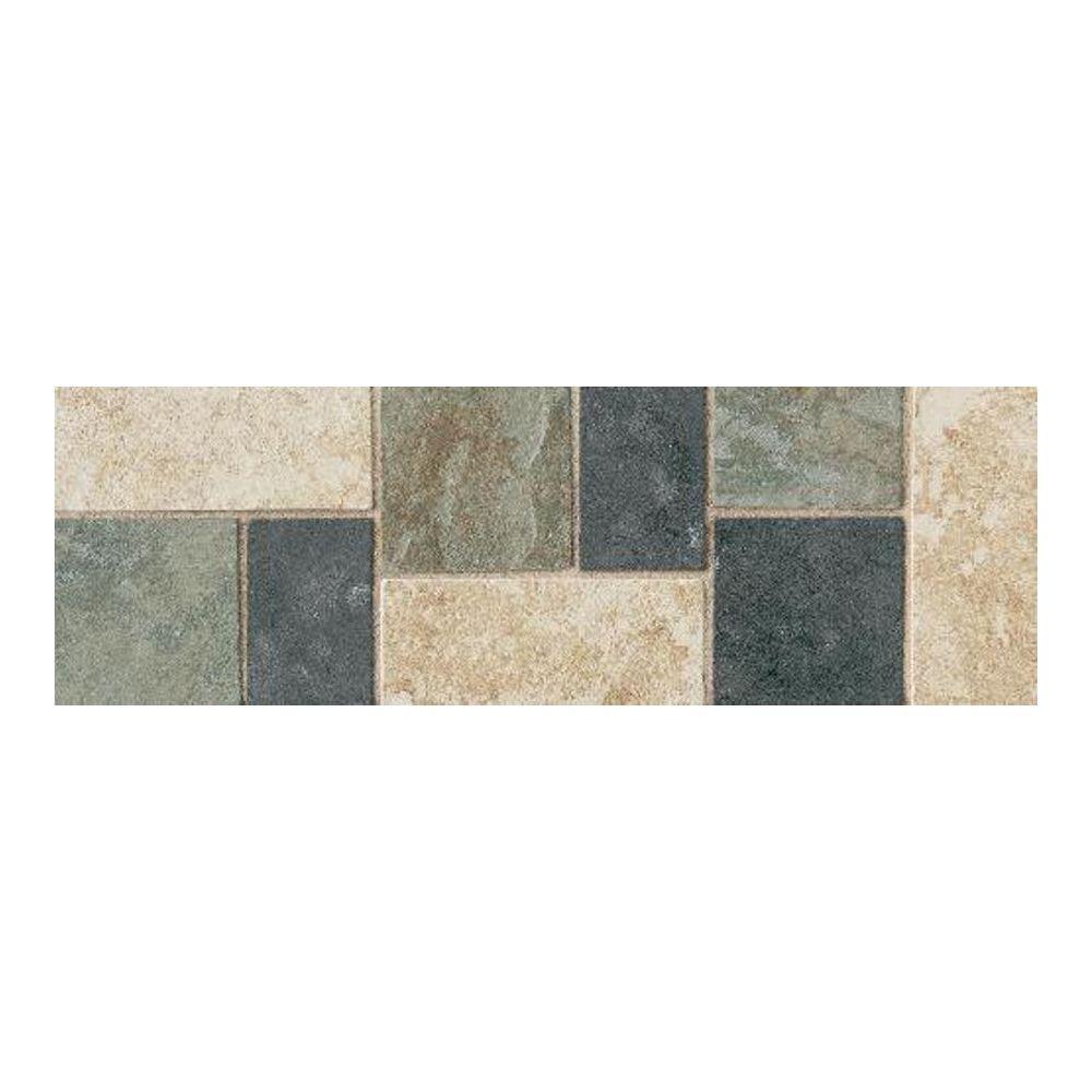 Accent floor tiles