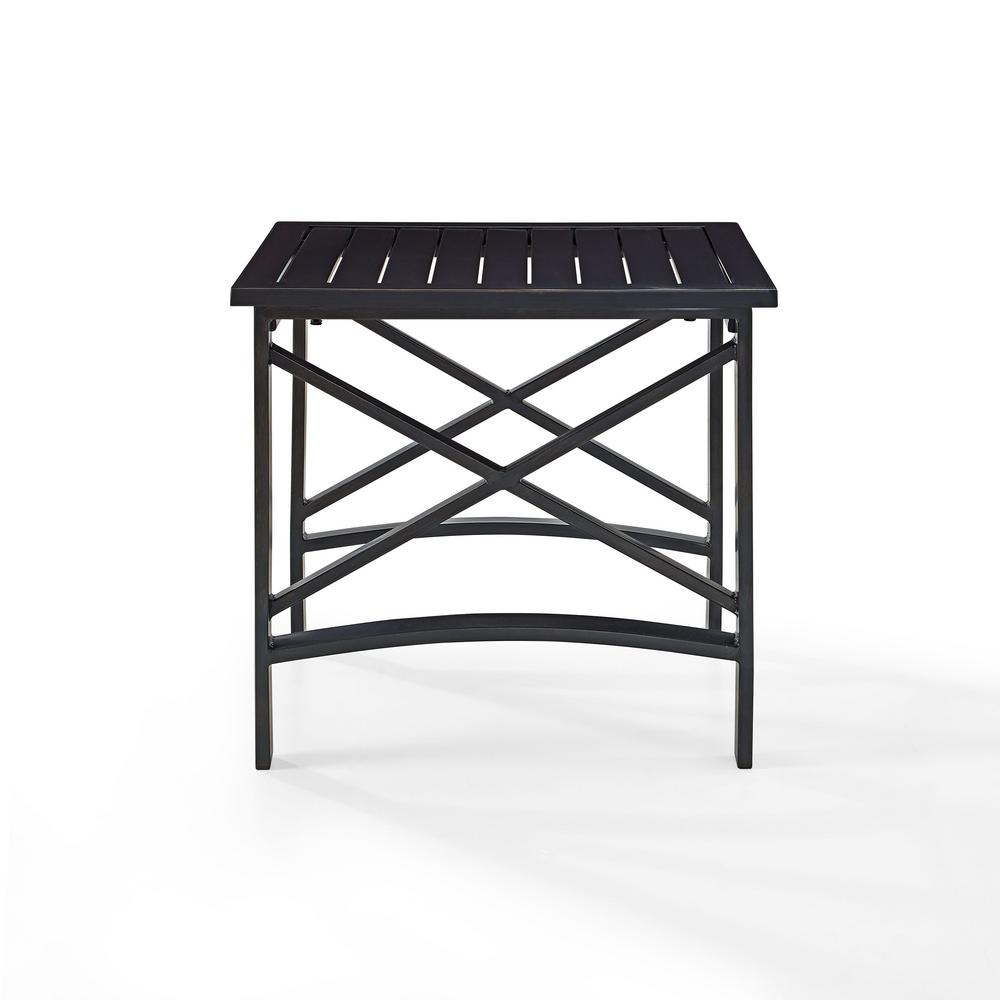 Crosley Kaplan Cast Aluminum Outdoor Side Table Photo