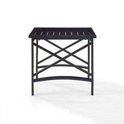 Kaplan Cast Aluminum Outdoor Side Table