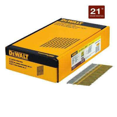 3-1/4 in. x 0.131 in. Galvanized Metal Framing Nails 2000 per Box