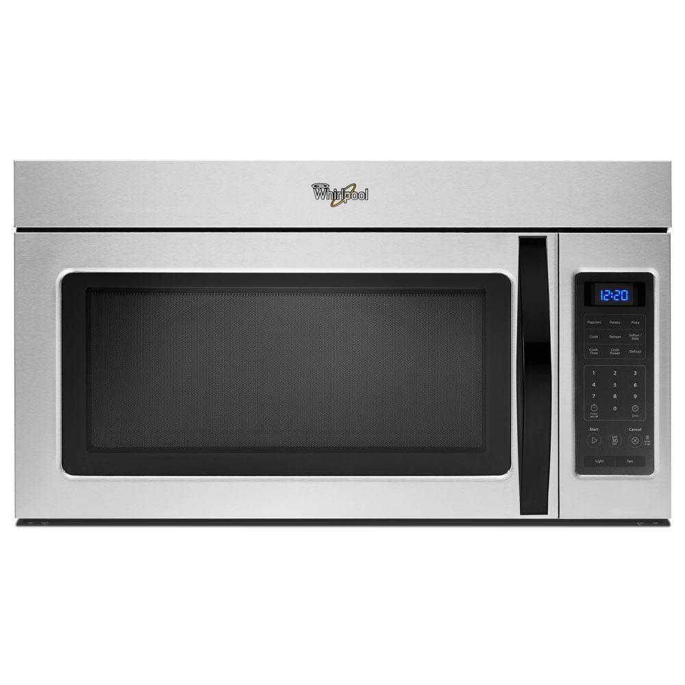 Whirlpool 1.7 cu. ft. Over the Range Microwave in Universal Silver