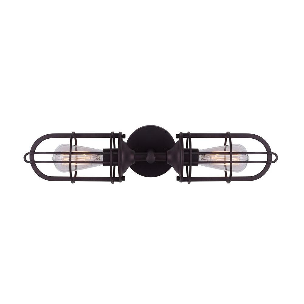 CANARM Indus 2-Light Oil Rubbed Bronze Vanity Light-IVL570A02ORB ...