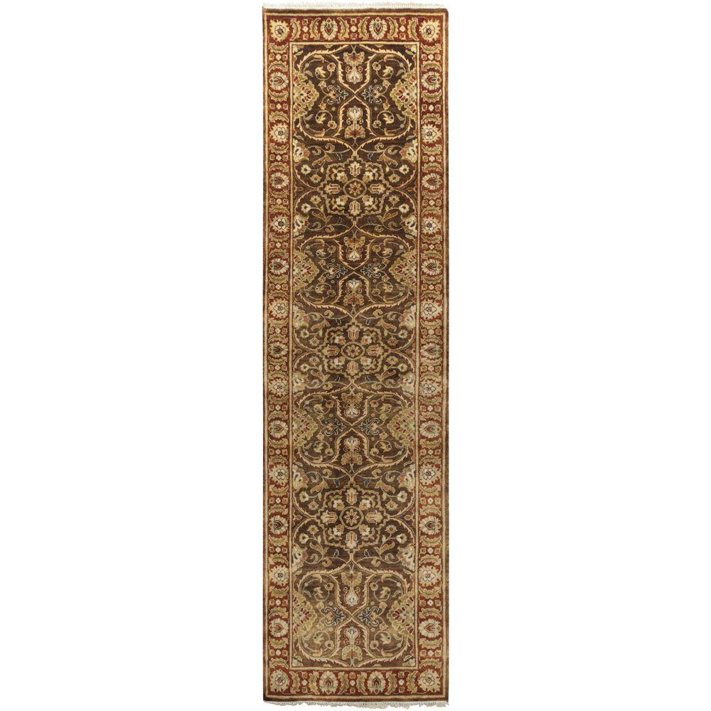 Septimius Olive 2 ft. 6 in. x 10 ft. Indoor Rug