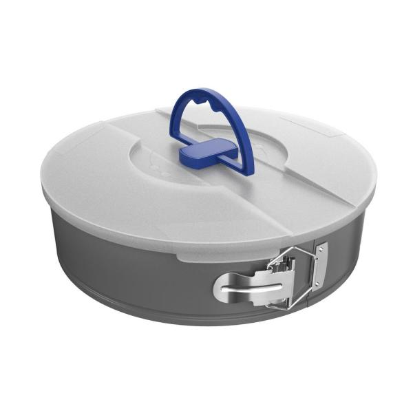 baca641e45a2b Classic Cuisine 10 in. Nonstick Springform Cake Pan and Lid Set (2 ...