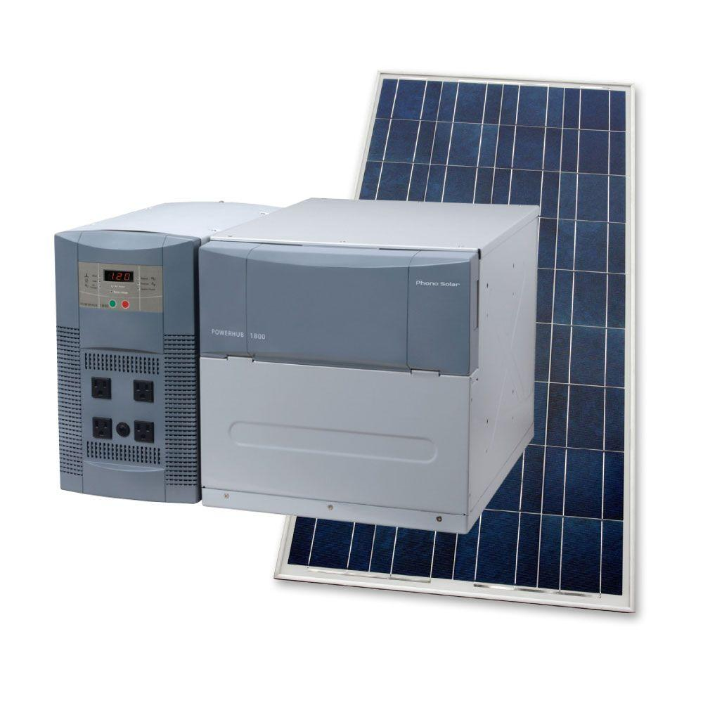 Phono Solar 1,800-Watt Solar Generator-DISCONTINUED