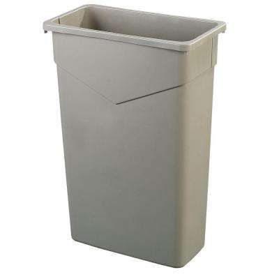 TrimLine 23 Gal. Beige Rectangular Trash Can (4-Pack)