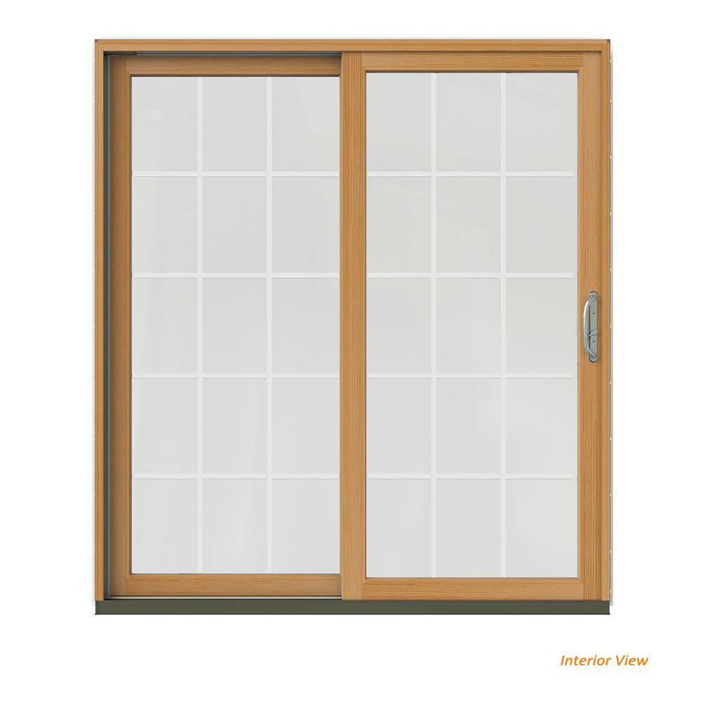Wood Patio Doors Exterior Doors The Home Depot