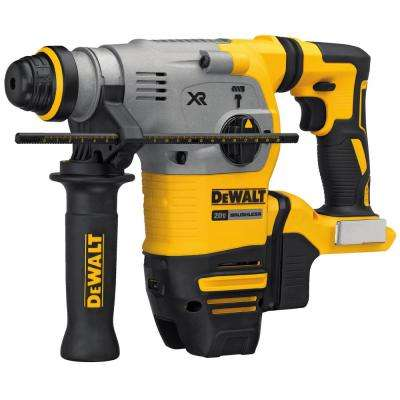 20-Volt MAX XR Li-Ion 1-1/8 in. Cordless SDS-plus Brushless L-Shape Concrete/Masonry Rotary Hammer (Tool-Only)
