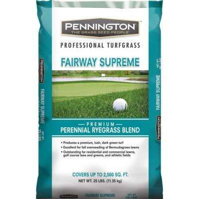25 lb. Fairway Supreme Perennial Ryegrass Blend