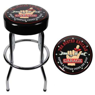 Busted Knuckle Garage Stool
