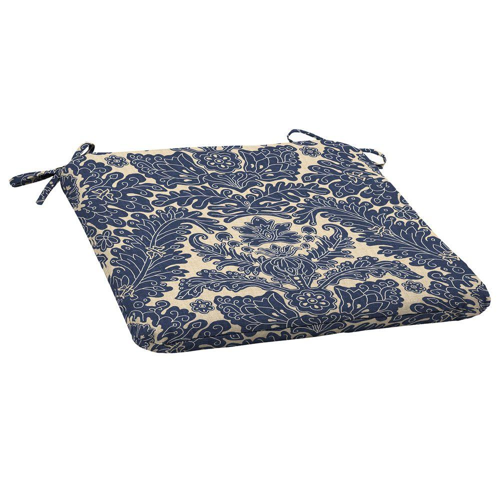 Chelsea Damask Outdoor Seat Cushion