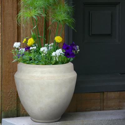 22 in. x 23.62 in. Monroe Resin Composite Planter