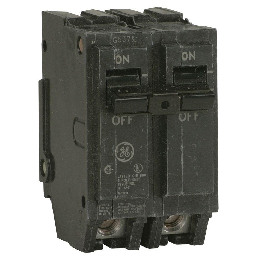 GE 70 Amp 2 In Double Pole Circuit Breaker