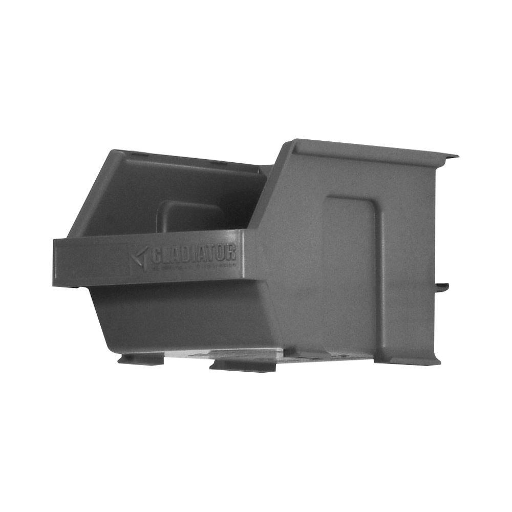 Gladiator Garage Storage Small Item Bins For Geartrack Or Gearwall 6 Pack Gawesb6psm The Home Depot
