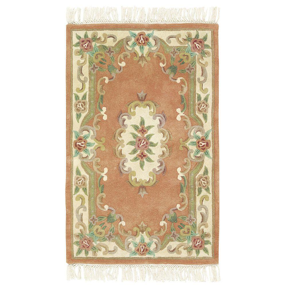 Home Decorators Collection Imperial Peach 8 ft. x 11 ft. Area Rug