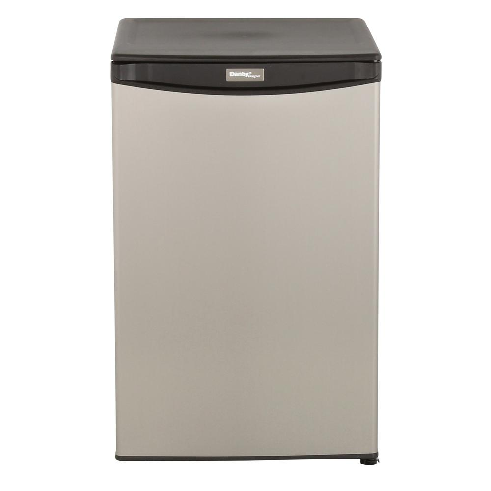 Danby 4.4 cu. ft. Mini All Refrigerator in Stainless Steel