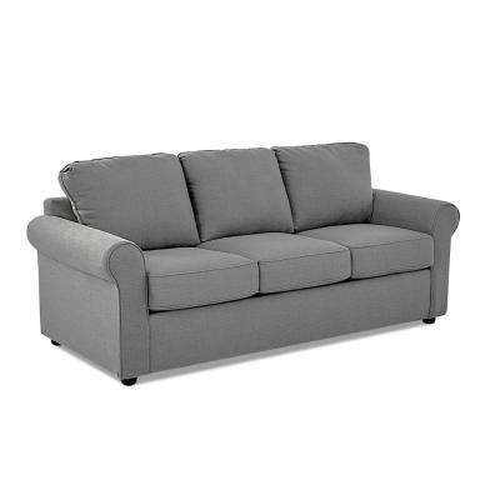 Andrea Queen Size Sleeper Sofa in Concrete