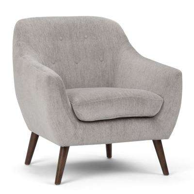 Brennley Dove Grey Arm Chair
