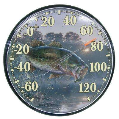 12.5 in. Bass Analog Thermometer