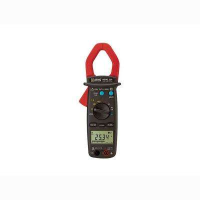 AC/DC True RMS Digital Clamp Meter with Hz