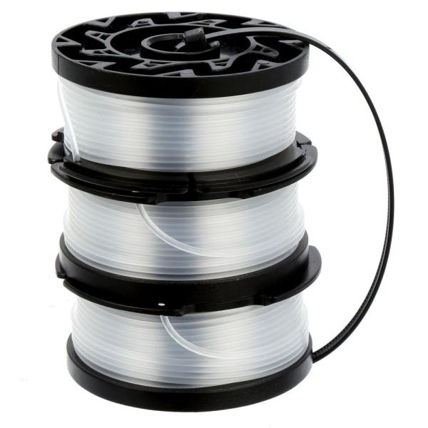0.065 in. x 30 ft. Replacement Single Line Automatic Feed Spools AFS for Electric String Grass Trimmer/Edger (3-Pack)