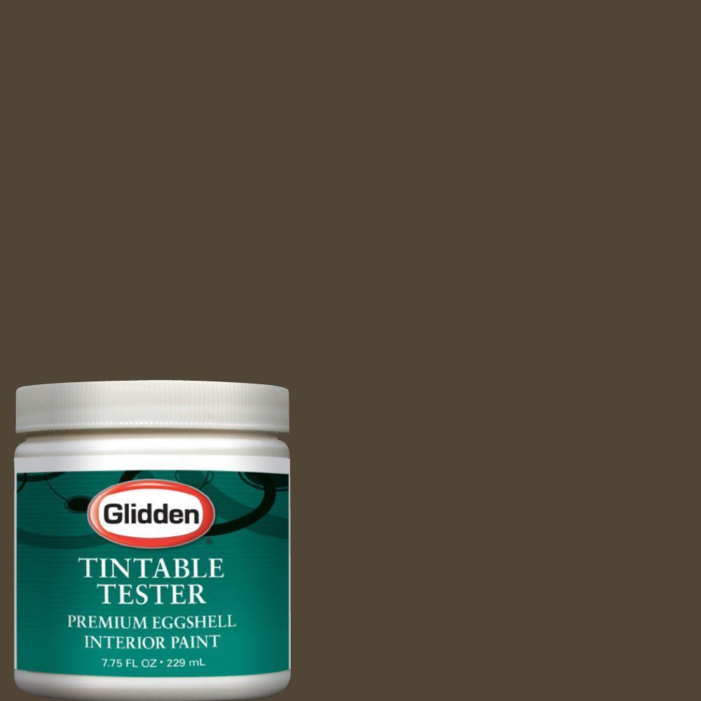 Glidden Premium 8-oz. Bittersweet Chocolate Interior Paint Tester