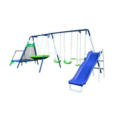 Sportspower Swing Sets Playground Sets Equipment The Home Depot