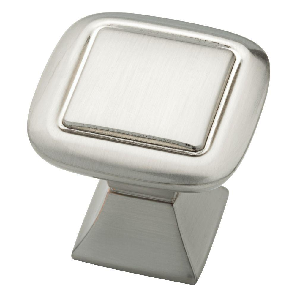Liberty Southampton 1-1/4 in. Satin Nickel Double Square