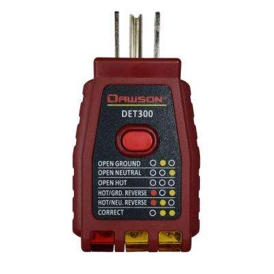 3 Wire/GCFI Outlet Tester