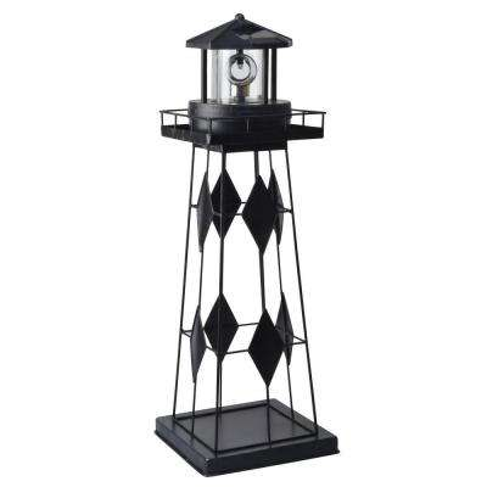 Solar Powered Outdoor LED Lighthouse