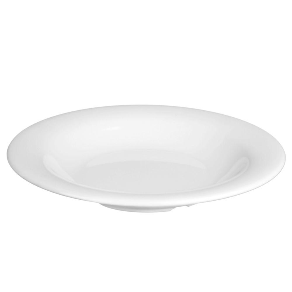 Restaurant Essentials Coleur 13 oz., 9-1/4 in. Salad Bowl in White (12-Piece)