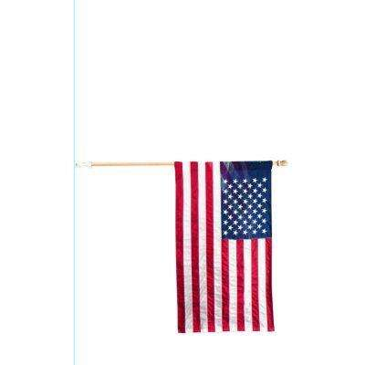 2-1/2 ft. x 4 ft. Polycotton U.S. Flag Kit