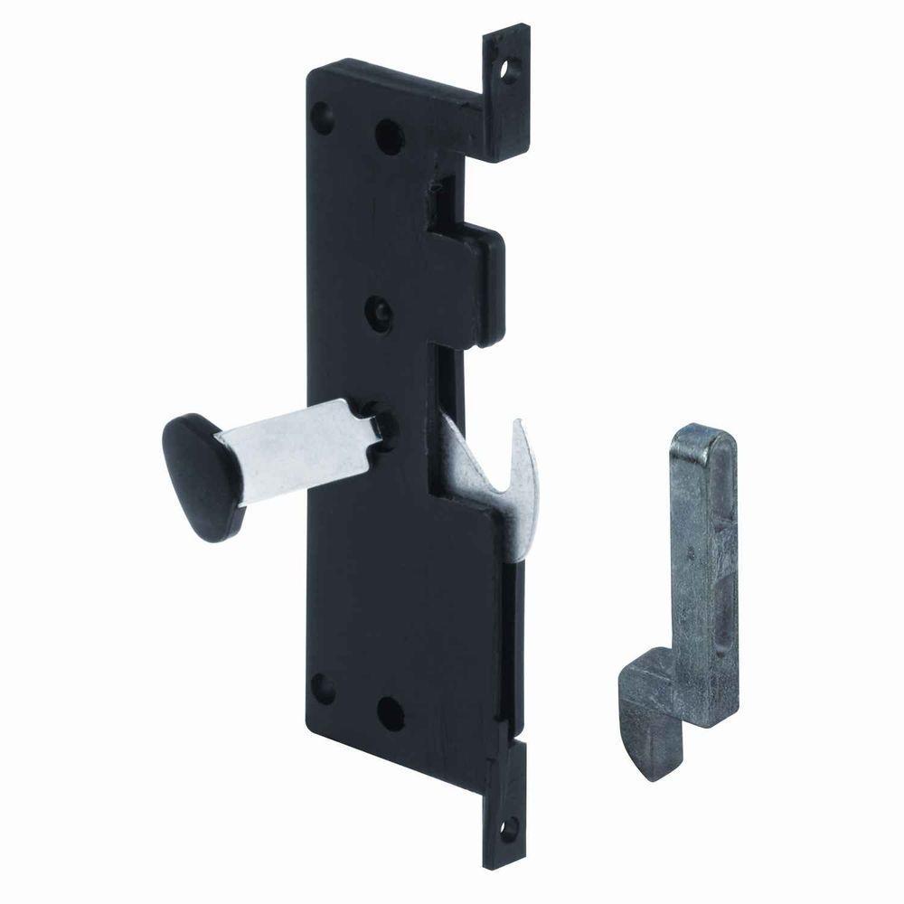 Sliding Screen Door That Locks: Prime-Line Mortise Style Sliding Screen Door Hook Latch-A