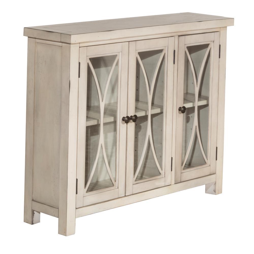 Bayside Rustic Mahogany 3 Door Cabinet