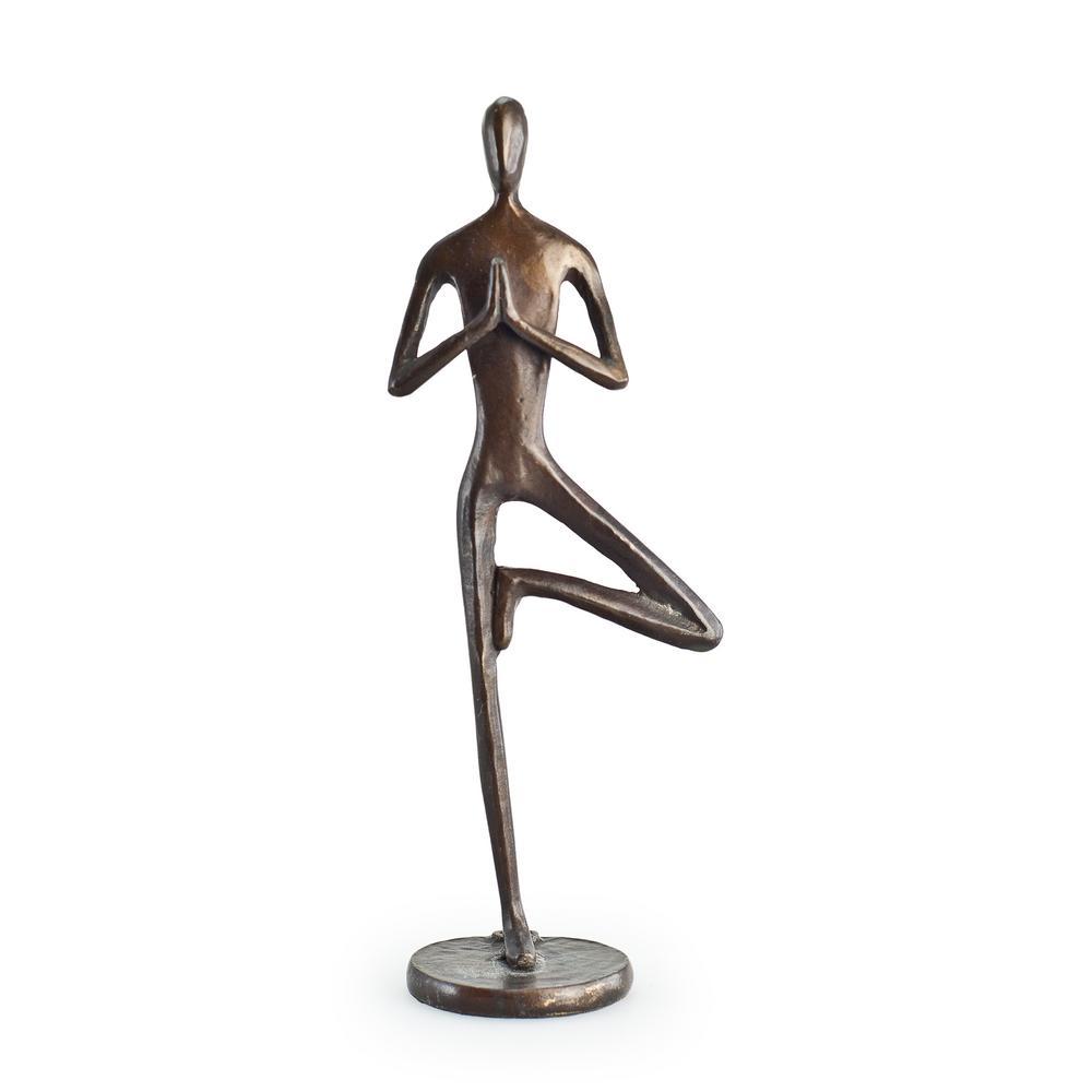 Yoga Tree Bronze Sculpture