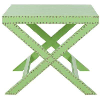 Jeanine Light Green End Table