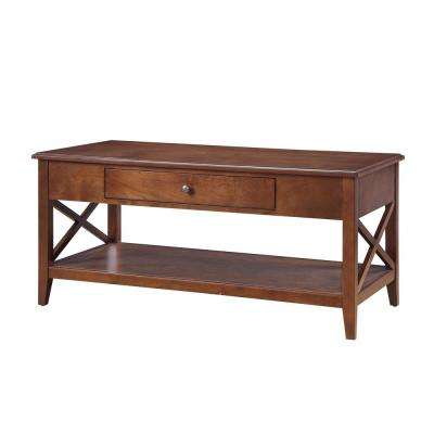 Wesley Walnut Coffee Table