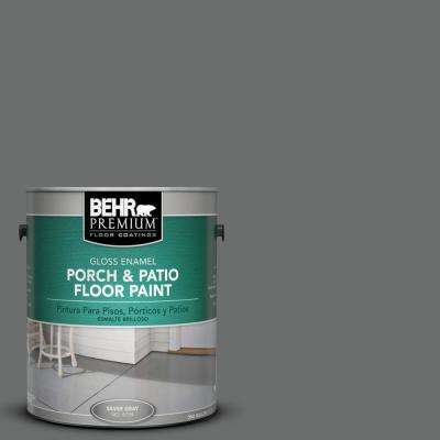 1 gal. #HDC-AC-17A Welded Iron Gloss Porch and Patio Floor Paint