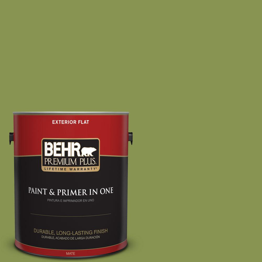 1-gal. #M350-6 Frog Flat Exterior Paint