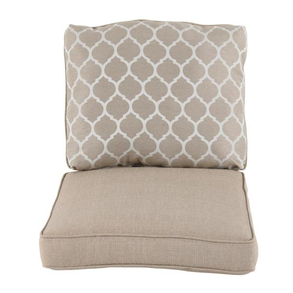 Beacon Park Toffee Replacement Outdoor Lounge Chair Cushion
